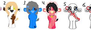 Cow pony adopts.(1 left.) by Ilovetoreadbooks