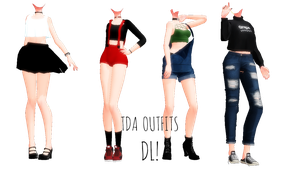 ||MMD||TDA Outfits Dl|| by NekoMMD24