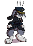 Angry Lucy Bunny by Virmir