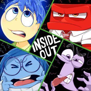 INSIDE OUT! -disgust- by hentaib2319