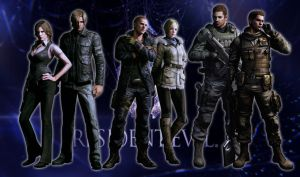 Resident evil 6 - characters by Betoberry