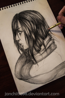Mikasa Realistic by Janchii9898