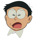 Nobita Expression by Niko2383