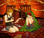 MxM pillow fort by ElyonBlackStar