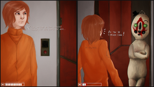 SCP 173 loves to troll you by KayIvl