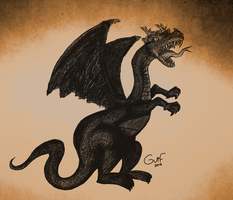 Dragon by Guilll