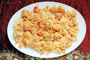 Shrimp Biryani by thatdesigngrl