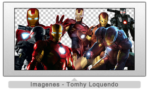 Pack Renders Iron Man by TomhyLoquendo