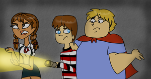 Commission: Total Drama/Monster House Spoof by PurfectPrincessGirl