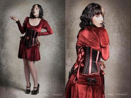 Scarlet Satine II by Miss-SelfDestructive