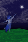 Reaching for the stars (contest entry) by CrazyInfin8