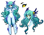 Custom Commission: Ocean Star by Costly