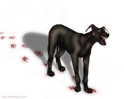 Mutant dog by Irkis