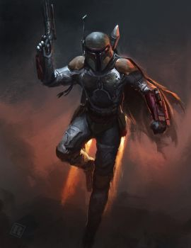 Boba Fett by Raph04art