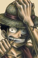 "Monkey D. ""Strawhat"" Luffy by Soapfish-Art"