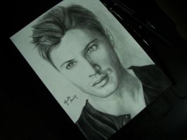 Jensen Ackless by GiselleAFerreira