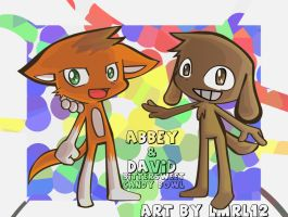 Abbey and David by lmrl12