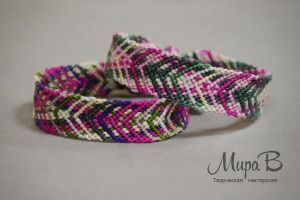 Friendship Bracelets 'Leaves' by releaserevolverenew