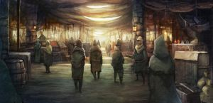 EOW207 ancient market by pc-0