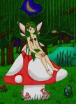 Forest Fairy (Redone) by PsyckoStinaMuffin