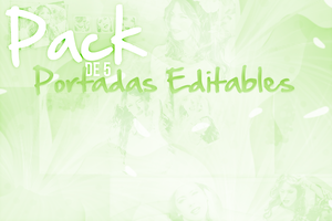 Pack de portadas editables. by Lichu-editions