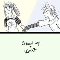 stand up and walk by Fictional-Fact