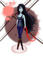 Marceline The Vampire Queen by ToastySenpai