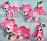 Pinkie Pie Beanie with Gummy by ButtercupBabyPPG