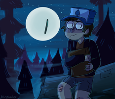 I'M NOT SAYING ALIENS BUT by northpines