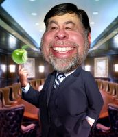 Steve Wozniak AKA Woz by RodneyPike
