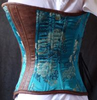 Profile of turquoise corset by LillysWorkshop