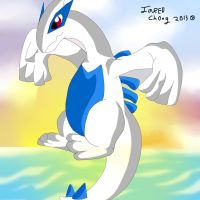 pokemon Lugia by PokeflareGTX