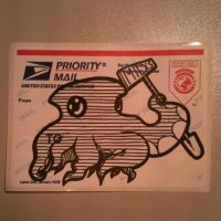 First USPS sticker by milzs
