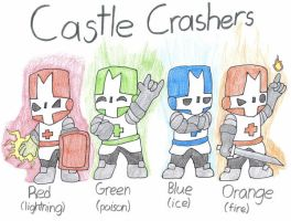 Castle Crashers by Gamerdragon07