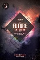Future Sessions Flyer by styleWish