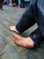 Barefoot in London 2 by PhilsPictures