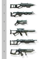 Random Firearms Draft by Long-Pham