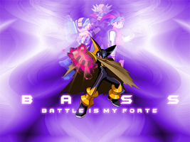 Bass EXE Wallpaper by MetalForce