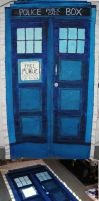 TARDIS wall hanging by Proi