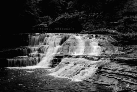 Treman State Park Waterfall by EmersonStem