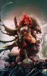 RED SONJA _ Queen Of Steel Colors by kcspaghetti