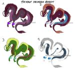 Draw to Adopt: Dragons: CLOSED by Red-Sinistra