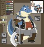 RPG-like Gator by GlassesGator