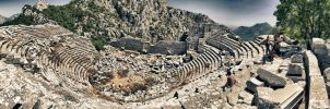 Thermessos City Theatere by TanBekdemir
