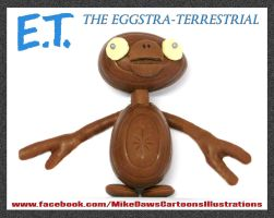 E.T - The Eggstra-Terrestrial by mikedaws