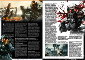 Killzone 3 - Page Template by Dr-Stein