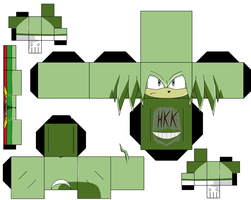Chaos Knuckles by hollowkingking