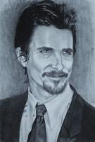Christian Bale by Aestera