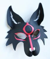 Black Okami Mask by nondecaf