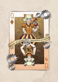 Queen of diamonds by mala666italy